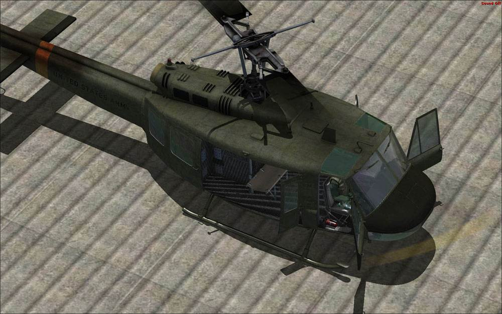 MV UH-1 Huey (FSX)