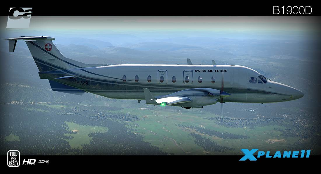 Carenado B1900D for X-Plane 11