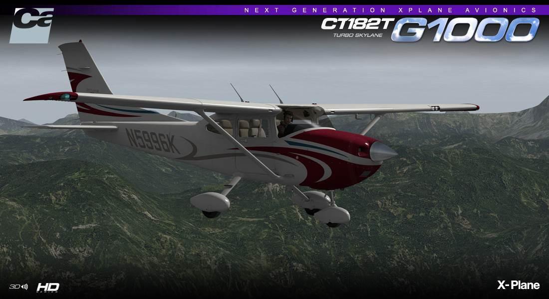 Carenado: CT182T Skylane G1000 HD Series FSX/P3D (Download