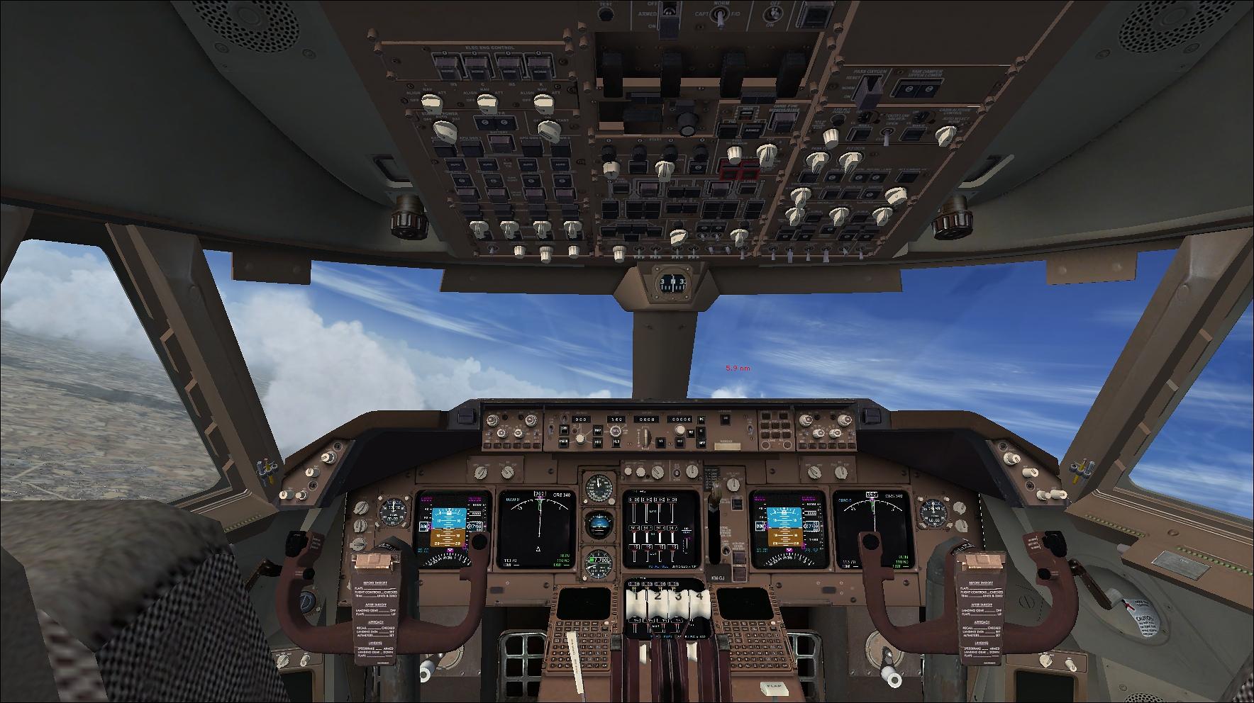 FSX Missions Alitalia B747-400 (FSX/P3D)