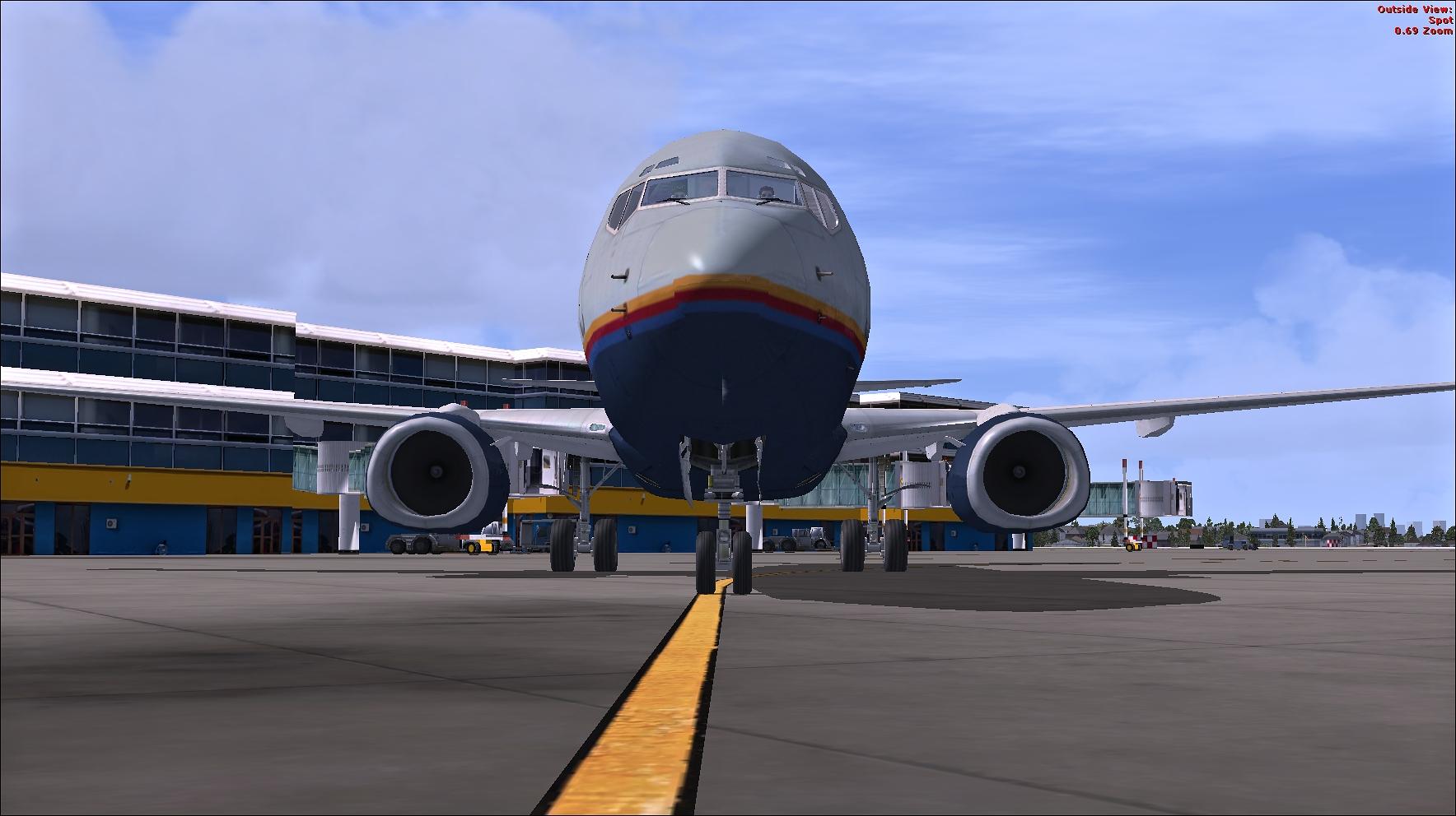 FSX Missions: United B737-800