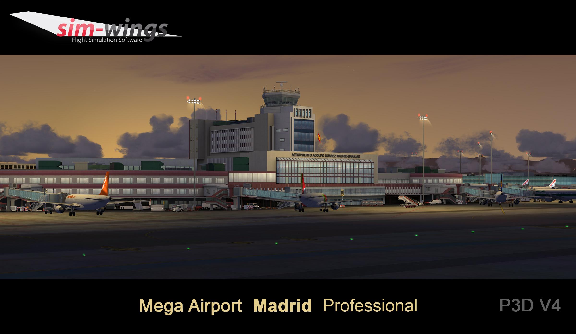 Mega Airport Madrid professional
