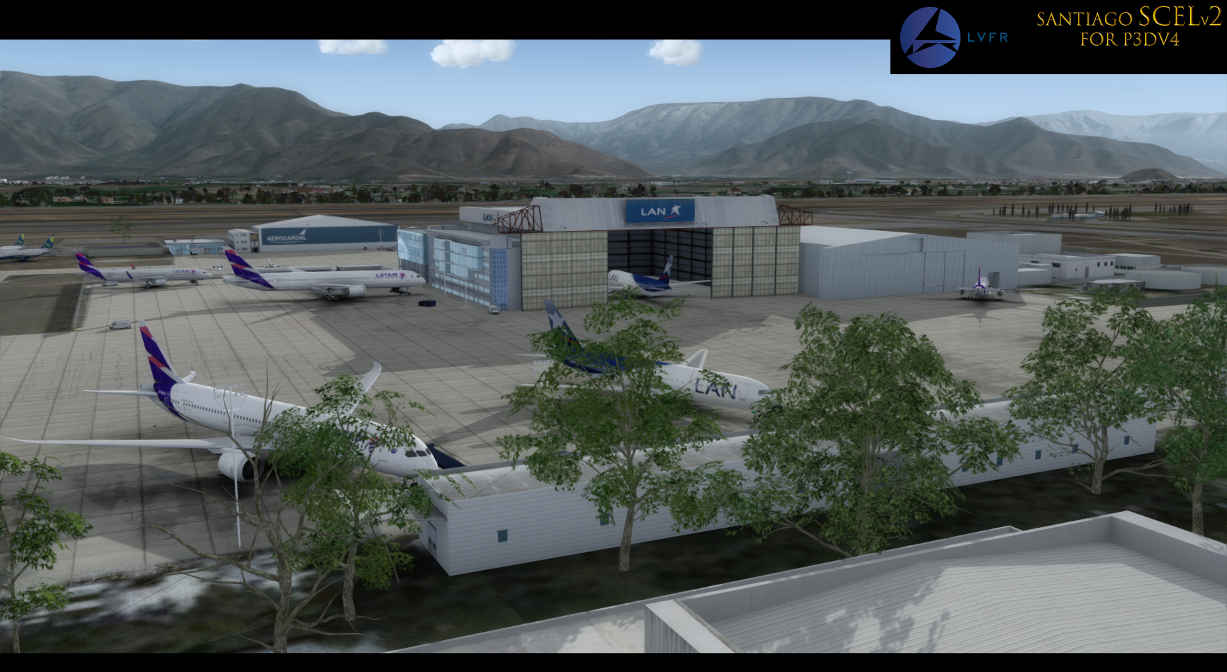 Santiago SCEL v2 (P3D v4)