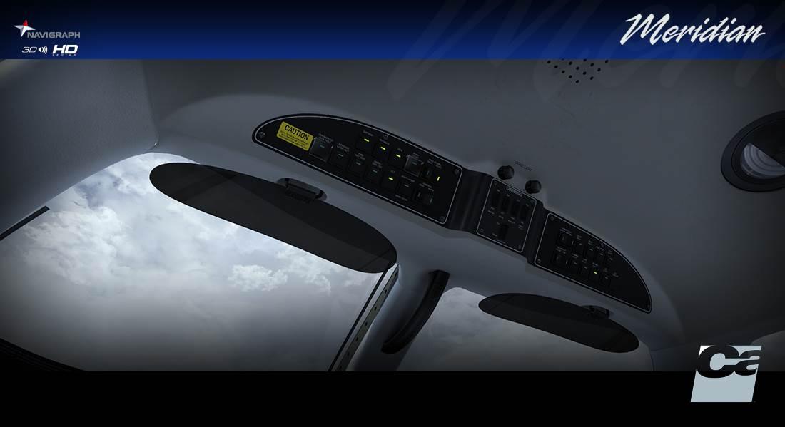PA46 500TP Malibu Meridian G1000 HD Series (FSX/P3D)