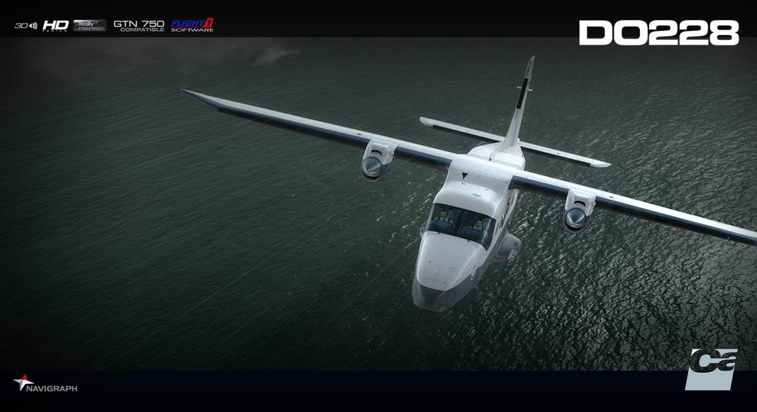 Carenado DO228 100 HD SERIES (FSX/P3D) - PC Aviator Direct
