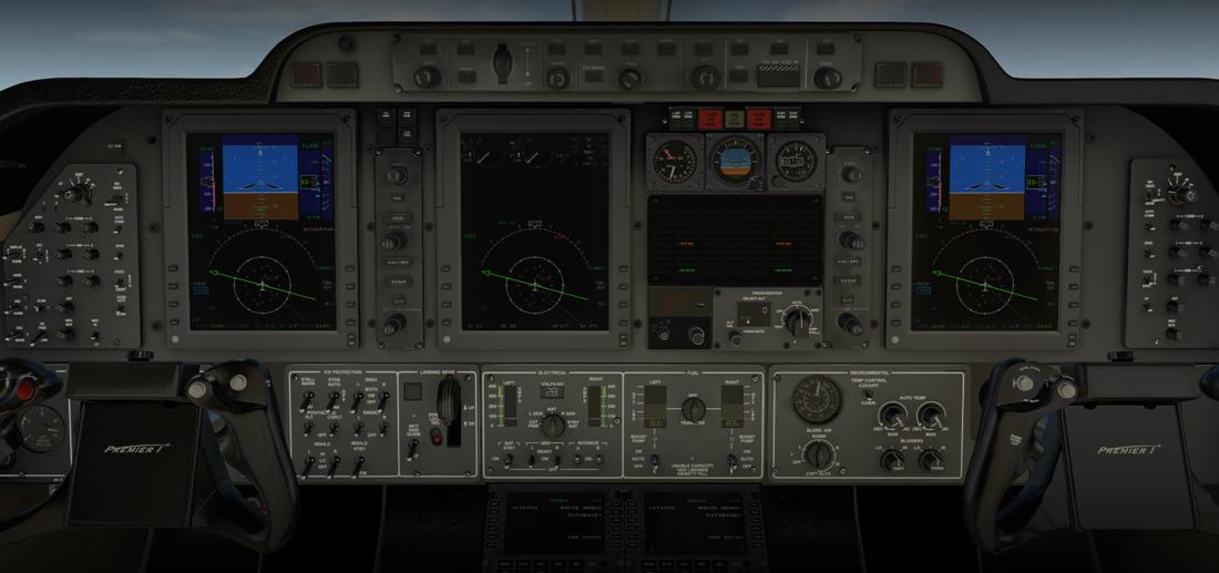 Carenado 390 Premier IA (X-Plane 11)