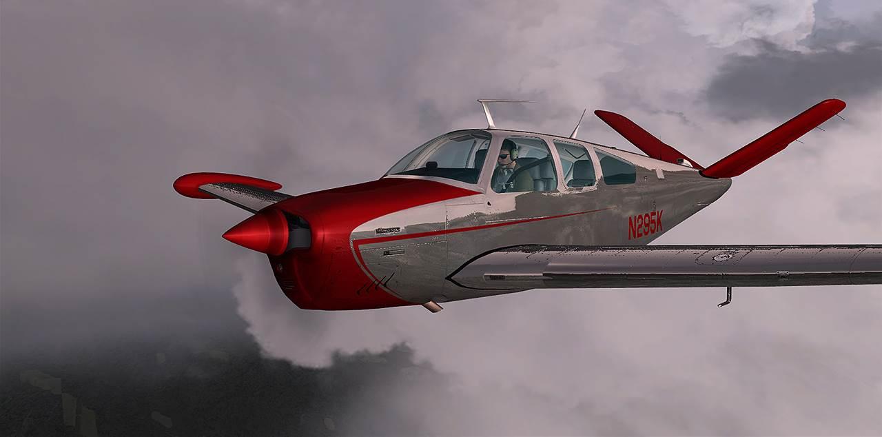 Carenado Bonanza V35b V Tail Pc Aviator
