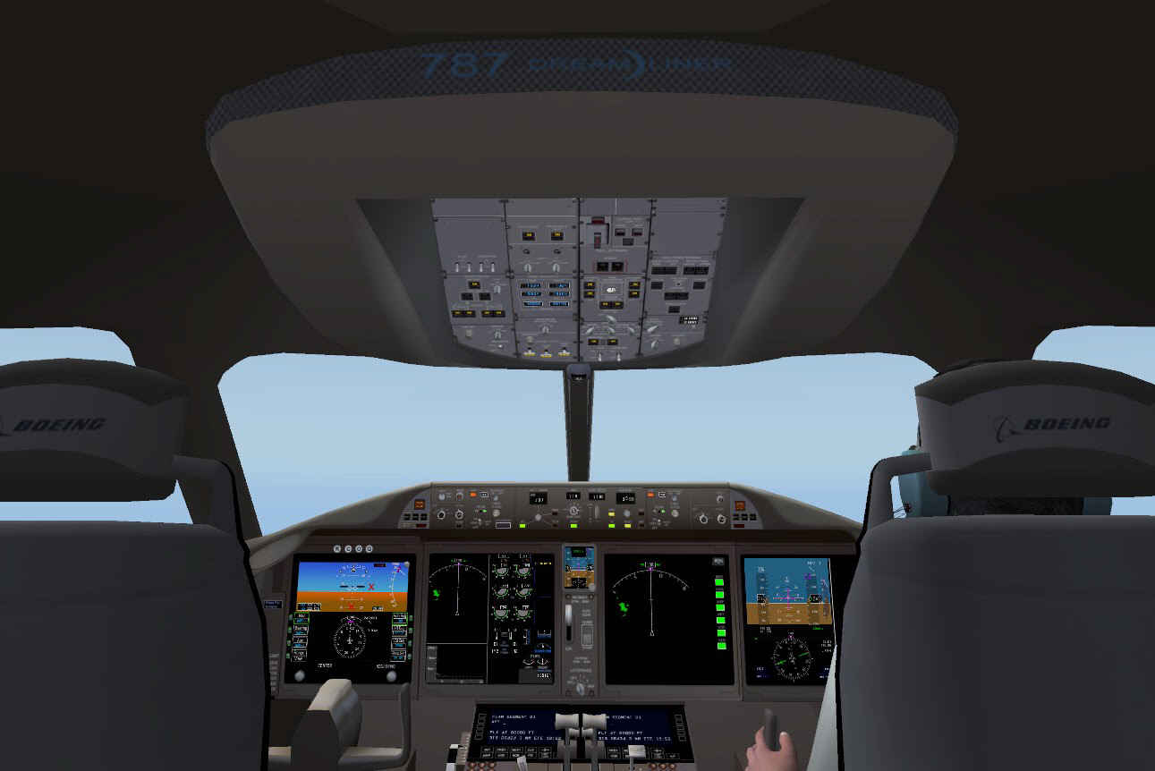 how to start the 787 x-plane