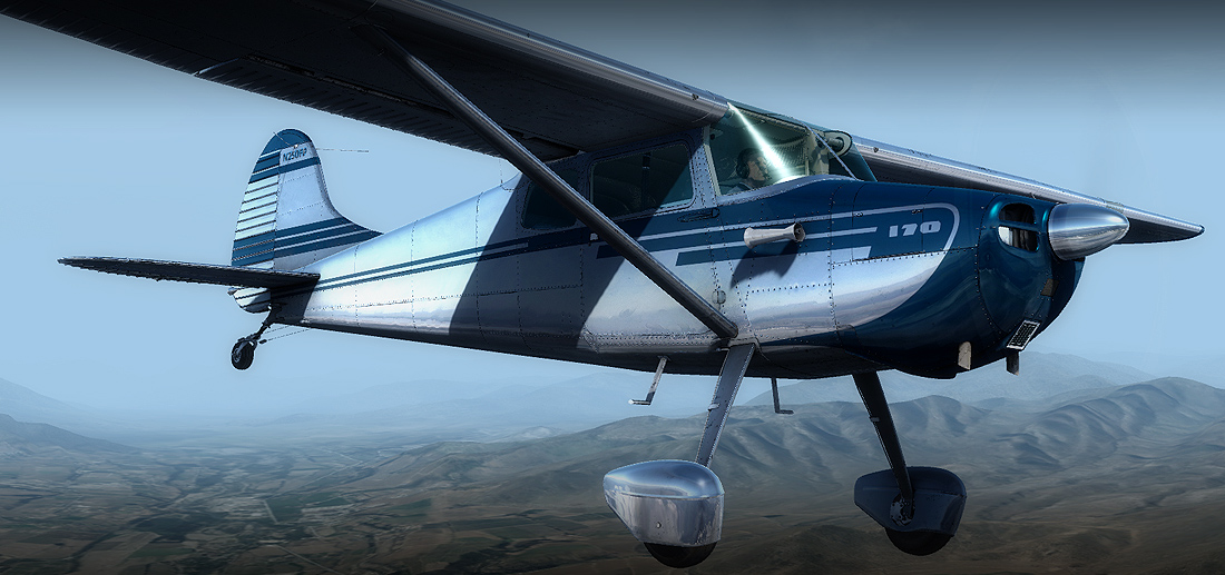 Download Quality Alabeo Alabeo C170B(FSX+P3D) Add-on for FSX