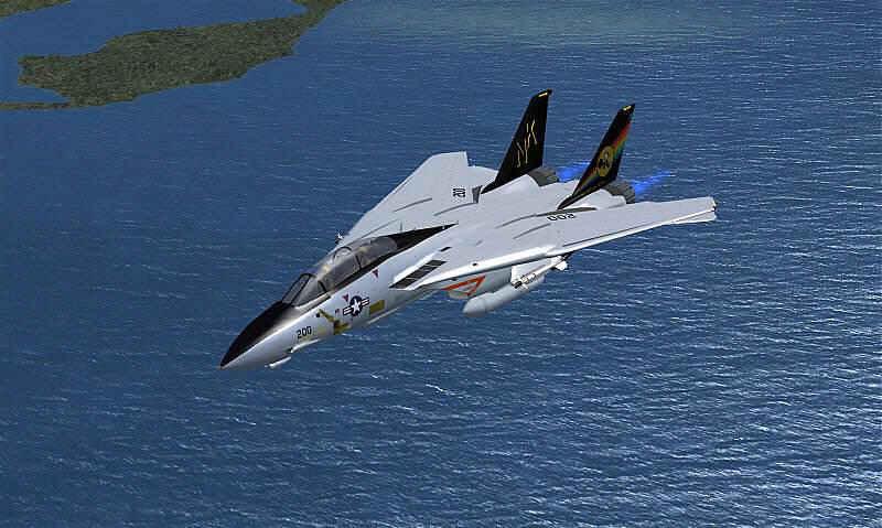F 14 Super Tomcat PC Aviator - The Fligh...