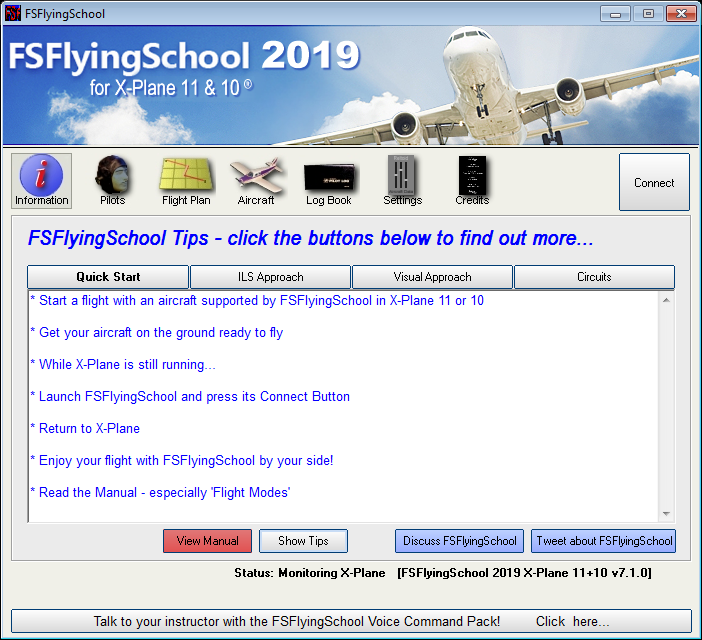 FSFlyingSchool Pro 2019 (X-Plane)