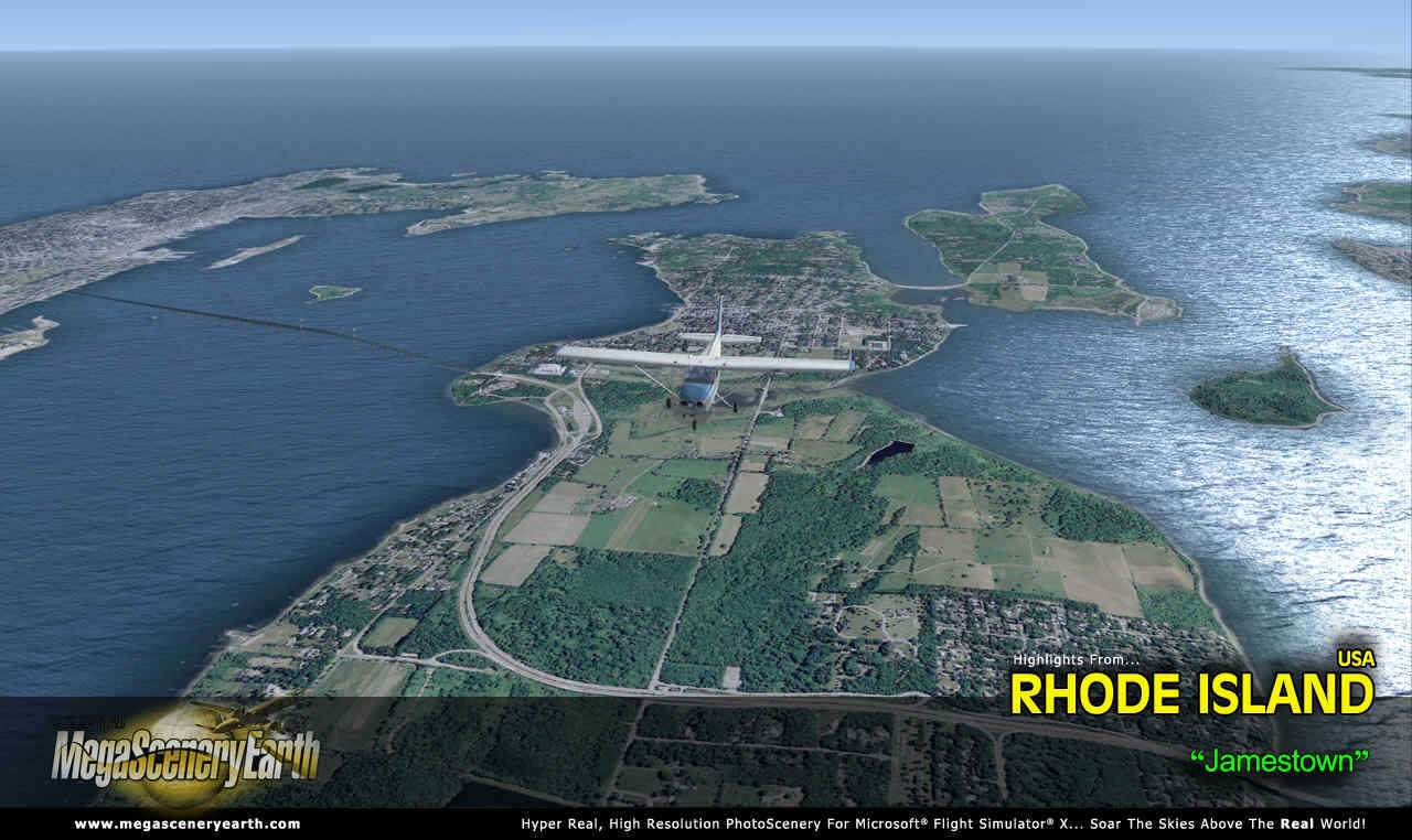 Rhode Island Size Miles