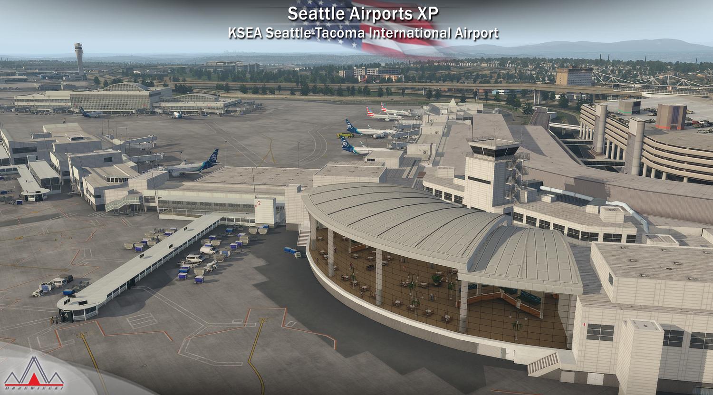 Seattle Airports XP (X-Plane 11)