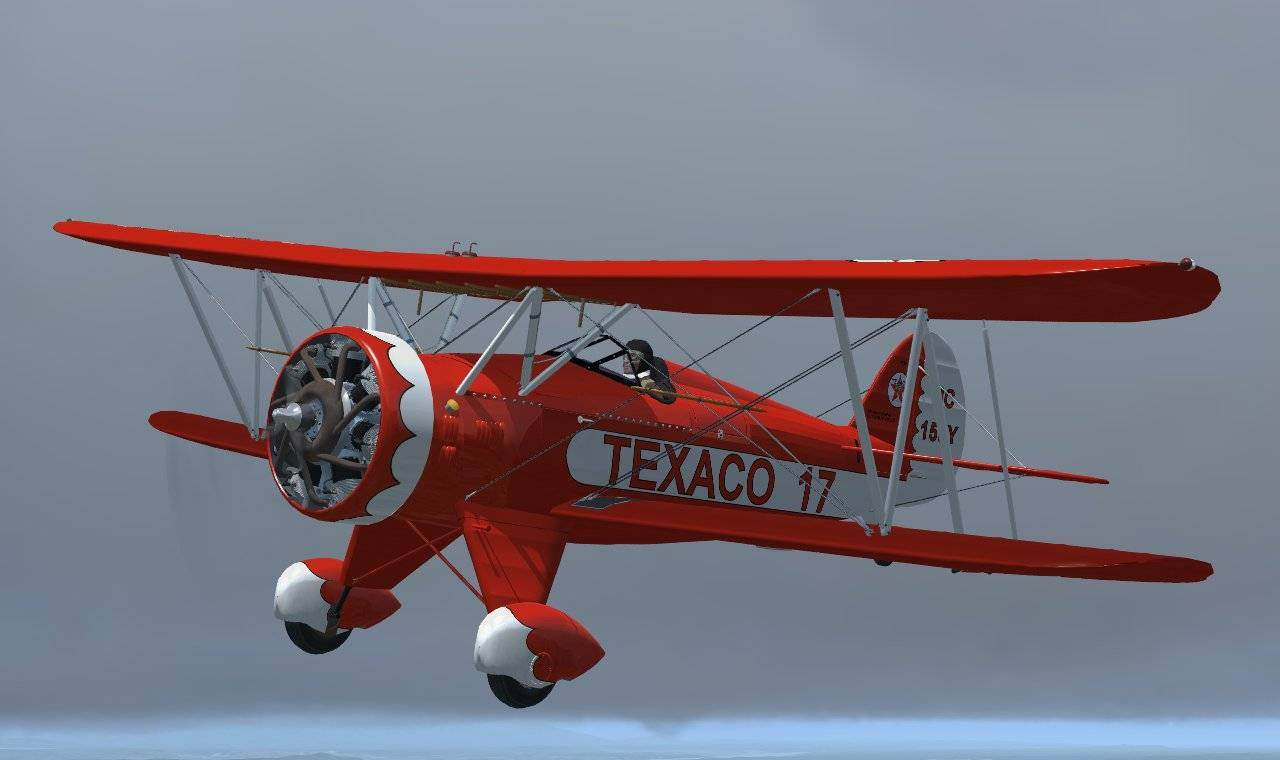 WACO UBF-2 (FSX/Steam/P3D)