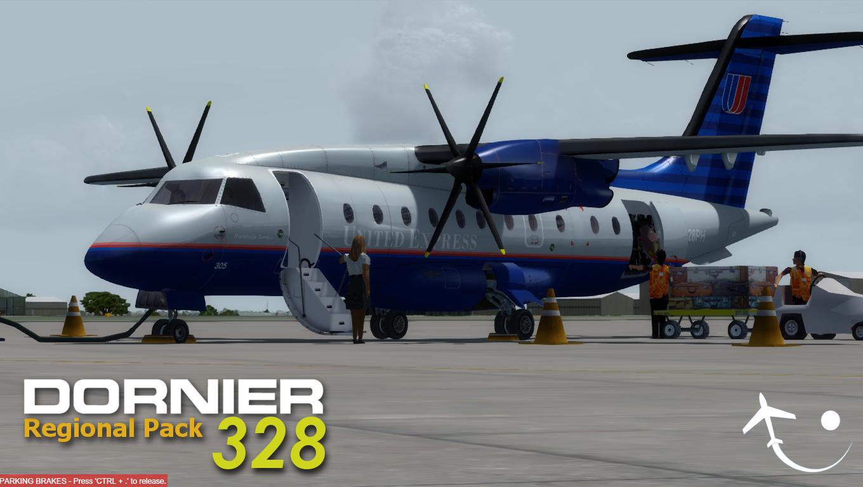 Dornier 328 Regional Pack for FSX/P3D
