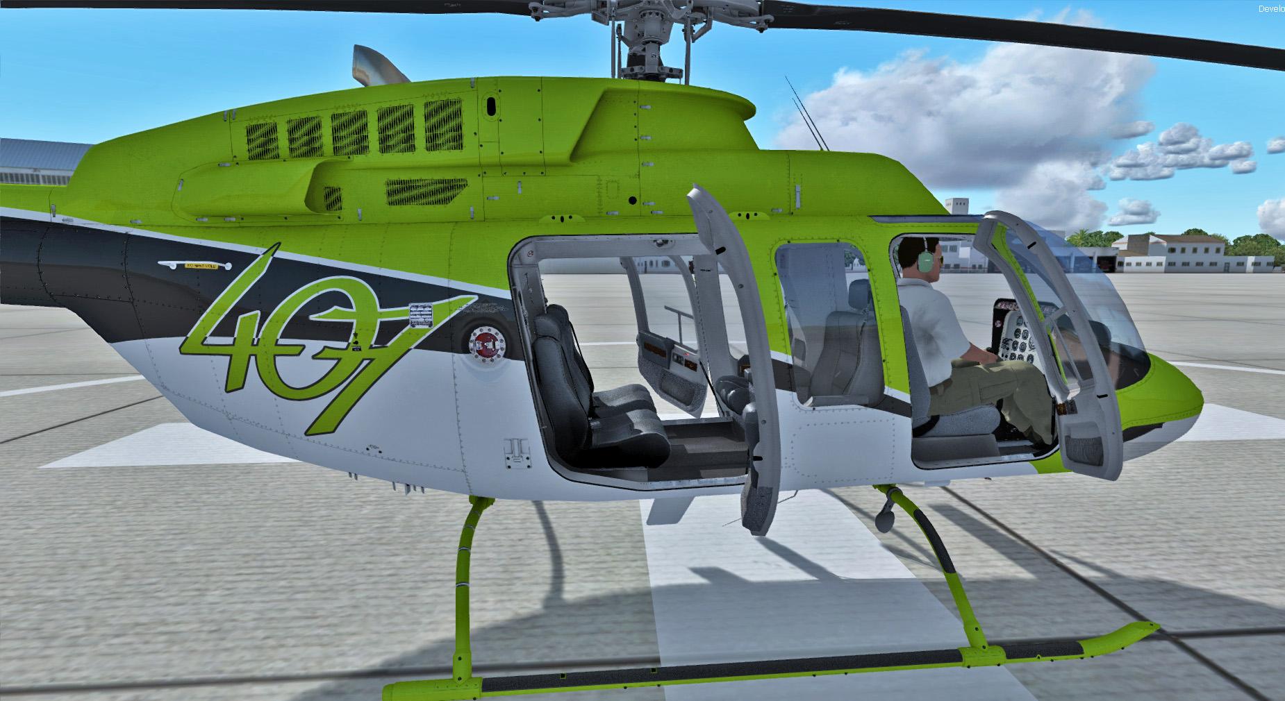 Nemeth Designs: Bell 407 (Download) - PC Aviator