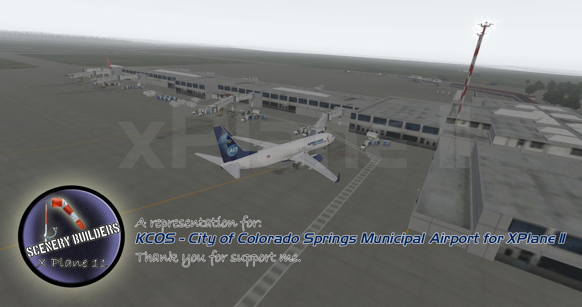 City of Colorado Springs Municipal Airport (KCOS) X-Plane 11