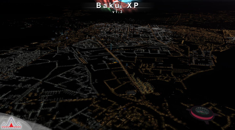 Baku XP (X-Plane 11)