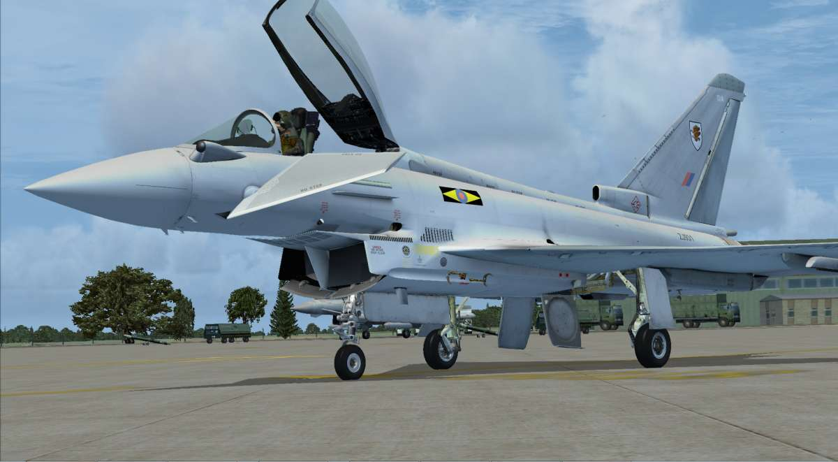 Eurofighter (Download) Add-on for FSX - PC Aviator