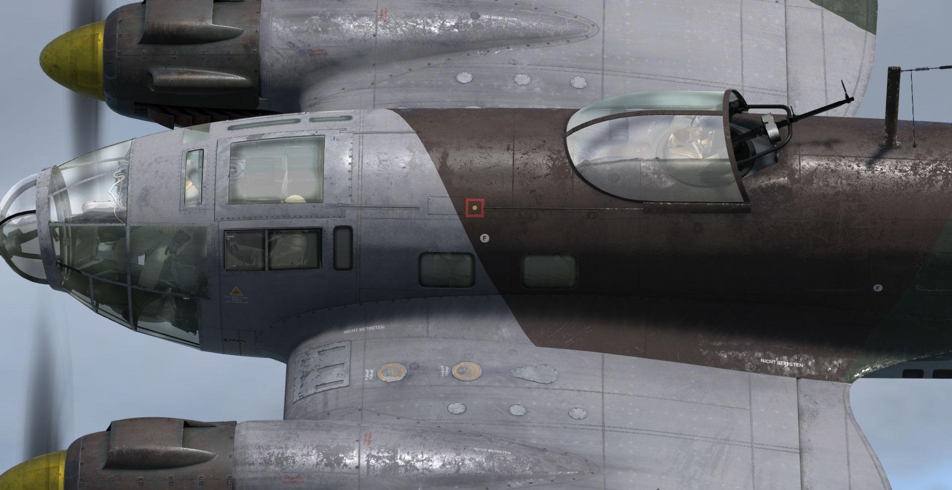 AH Heinkel He-111 (P3D v4 4+)