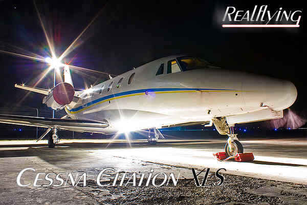 RealFlying Cessna Citation XLS Augsburg-London