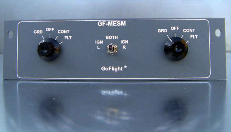 GoFlight GF-MESM Multi Engine Starter Module