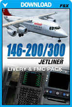 146-200/300 Jetliner Livery & FMC Expansion Pack