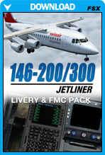 146-200/300 Jetliner Livery & FMC Expansion Pack