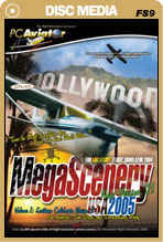 MegaScenery USA: Southern California Version 2 - Lite (FS2004)