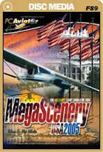 MegaScenery USA: Washington DC, Baltimore, Mid Atlantic Region LITE (FS2004)