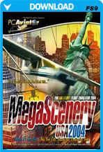 MegaScenery USA: New York (FS2004)