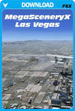 MegaSceneryX - Las Vegas (FSX)