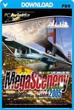 MegaScenery USA: Northern California V2 (FS2004)