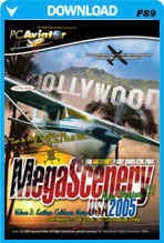MegaScenery USA: Southern California V2 (FS2004)