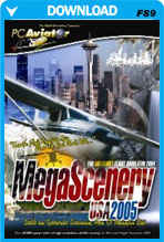 MegaScenery USA: Pacific Northwest (FS2004)