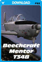 Beechcraft Mentor T34B (FSX)