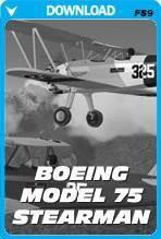 Boeing Model 75 Stearman (FS2004)