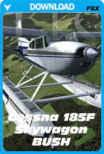 Carenado C185F SKYWAGON BUSH (FSX)