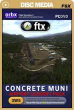 FTX: NA 3W5 Concrete Municipal Airport