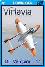 De Havilland Vampire T.11