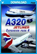 A320 Jetliner - Expansion Pack 4