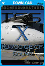 CRJ-700 GE-CF34 Soundpack for FSX