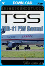 MD-11 PW SoundPack For FS2004