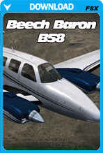 Carenado Beechcraft Baron B58