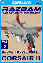 RAZBAM A-7K/TA-7/EA-7L Corsair II Volume III