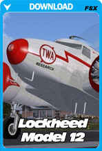 Lockheed Model 12 For FSX