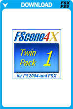 FScene4X - Twin Pack 1 - North & South America