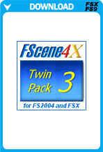 FScene4X - Twin Pack 3 - Asia & Australia/NZ