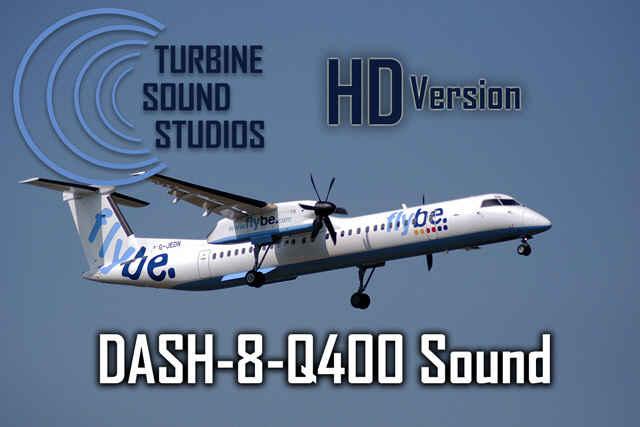 Dash 8 Q400 soundpack for FS2004