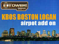 KBOS Boston Logan International Airport Add-On for Tower! 2011